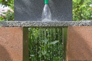 permeable paver water drainage example