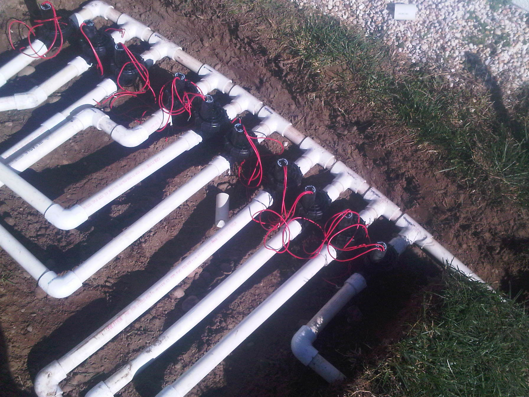 Lawn Sprinkler Installation All Phaze Irrigation Services