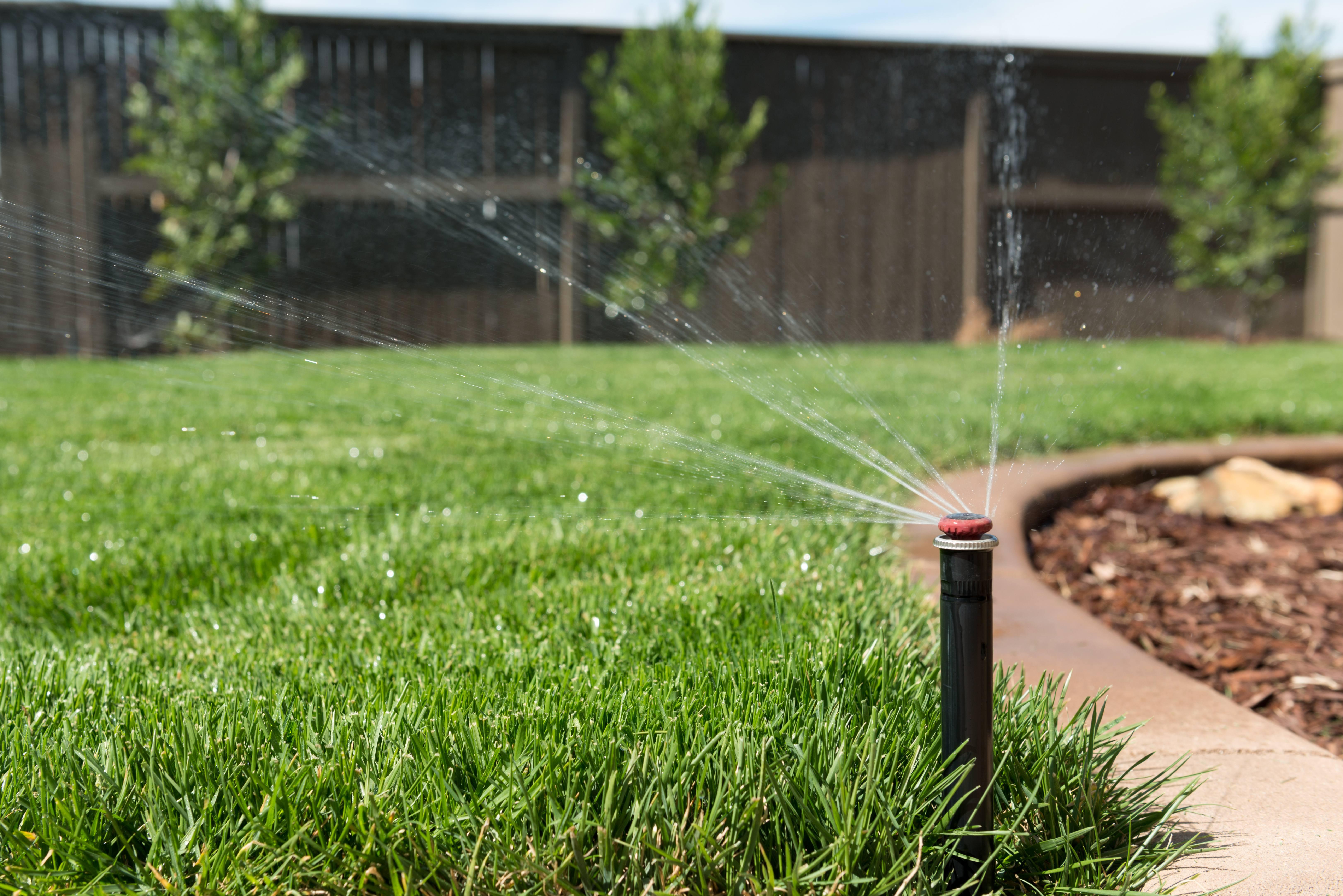 well water sprinkler