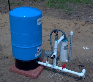 Deep Water Pump on Deep Well Submersible Pump Installation