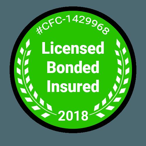 Licensed - Bonded - Insured